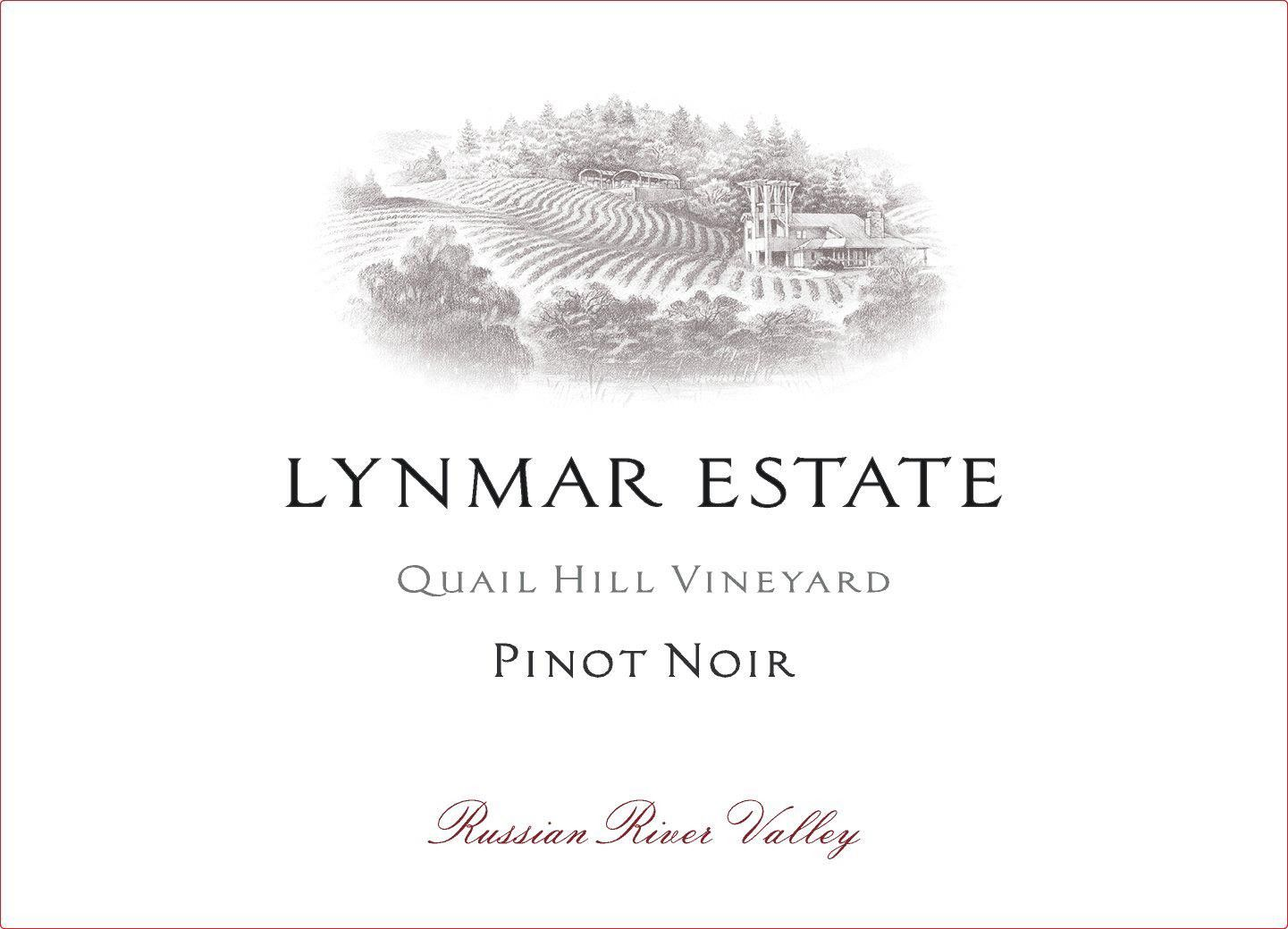 Lynmar Winery Quail Hill Cuvee Pinot Noir 2017  Front Label