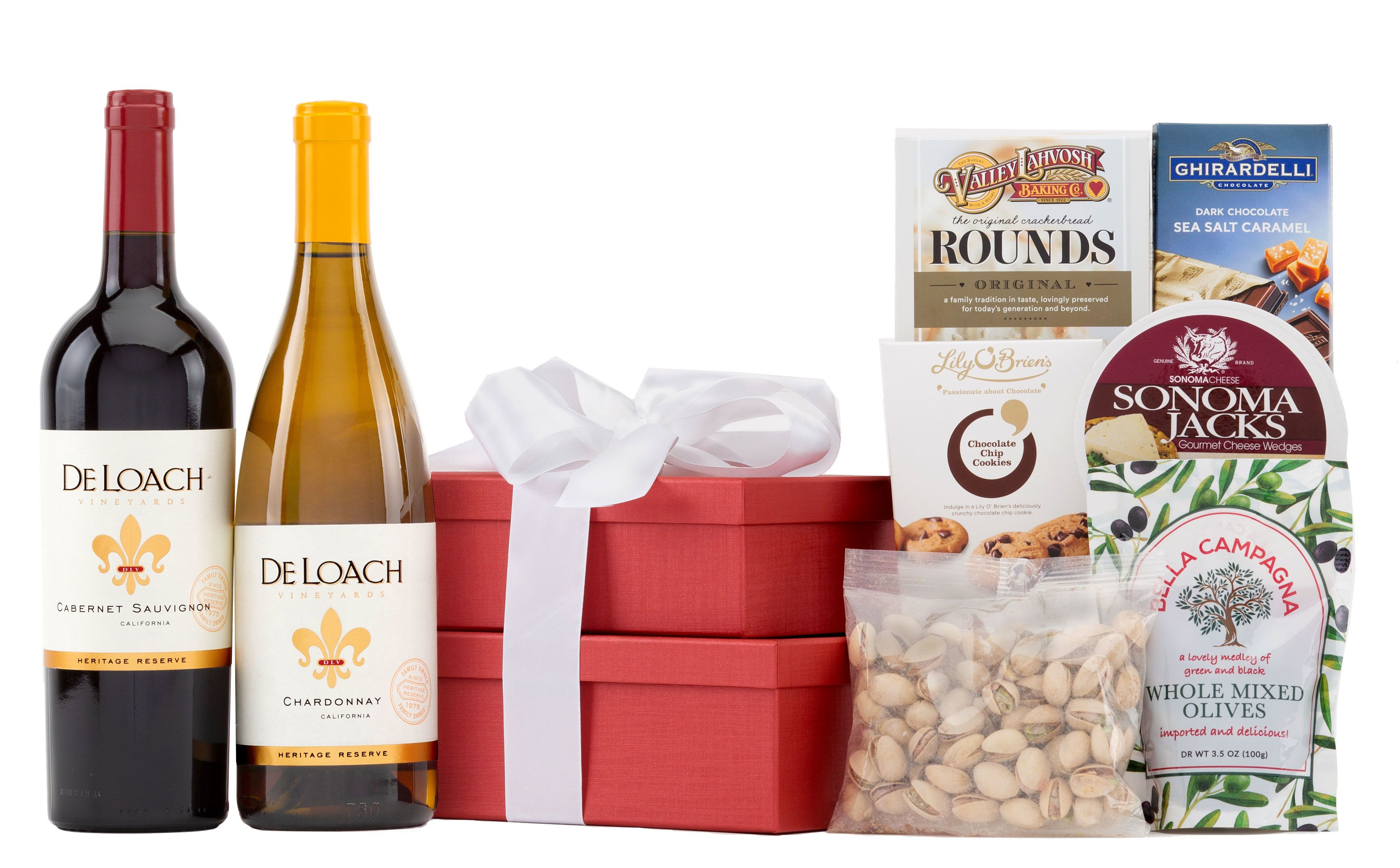 wine.com Sonoma Wine Gift Tower  Gift Product Image
