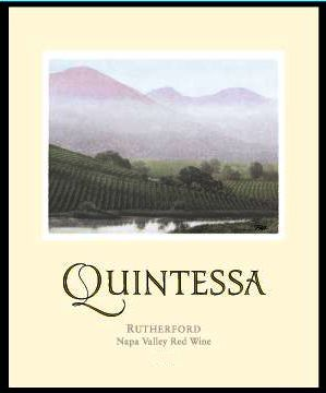 Quintessa  2015 Front Label