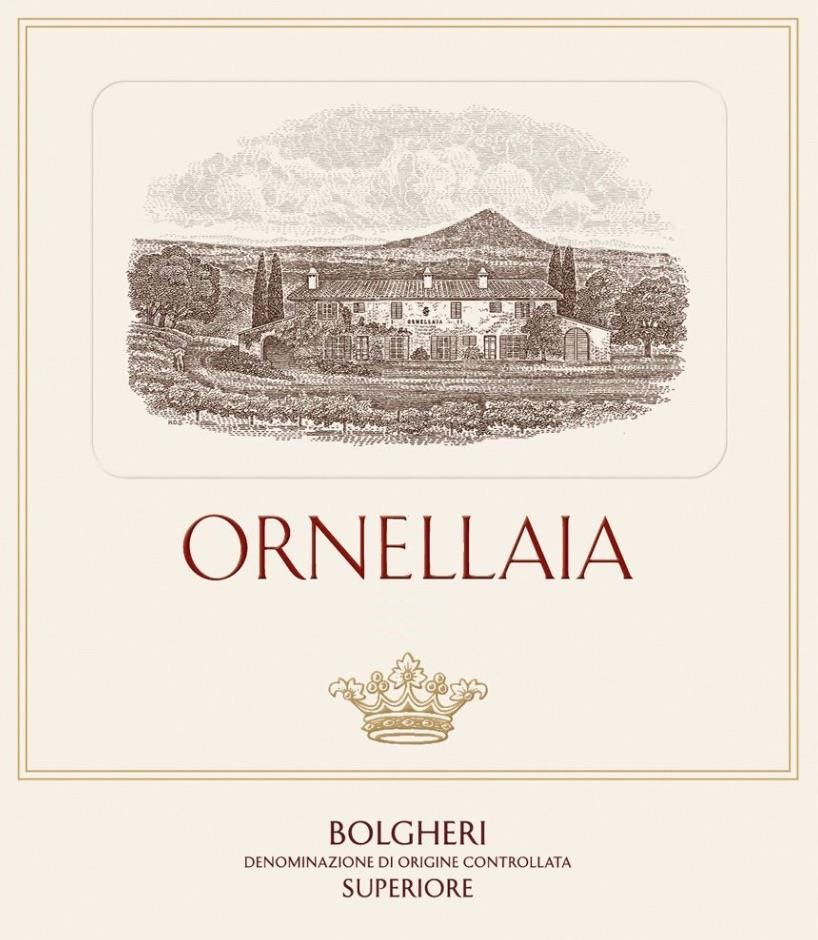 Ornellaia (3 Liter Bottle) 2016 Front Label