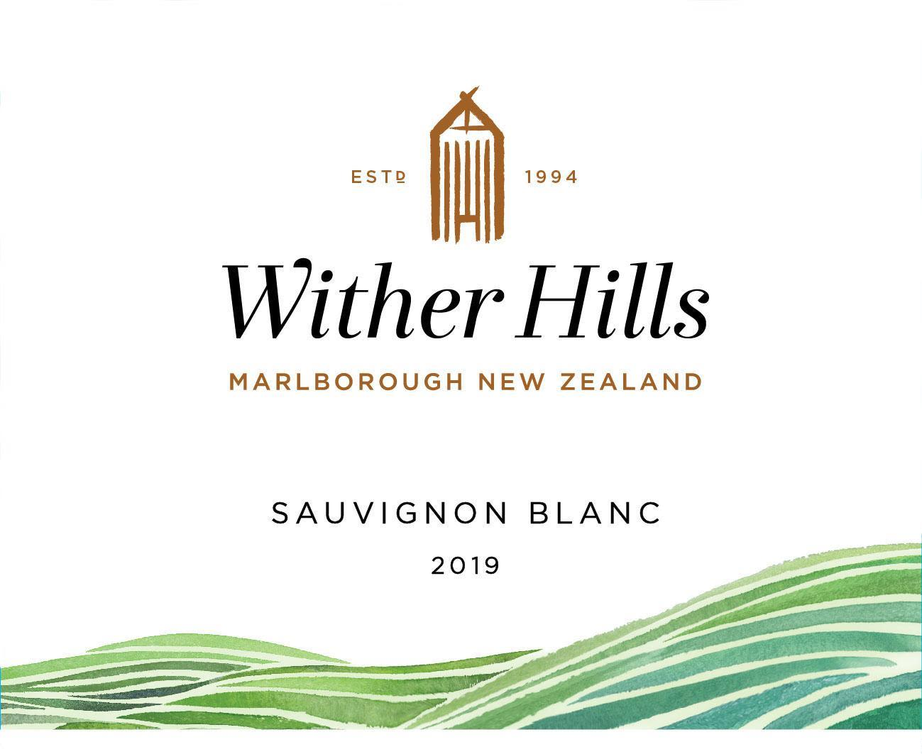 Wither Hills Sauvignon Blanc 2019  Front Label