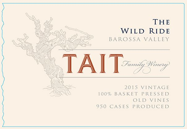 Tait Wild Ride Red Blend 2015 Front Label