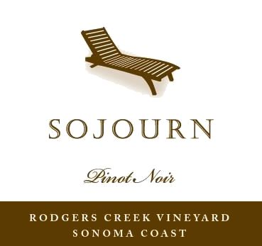 Sojourn Rodgers Creek Pinot Noir 2017 Front Label