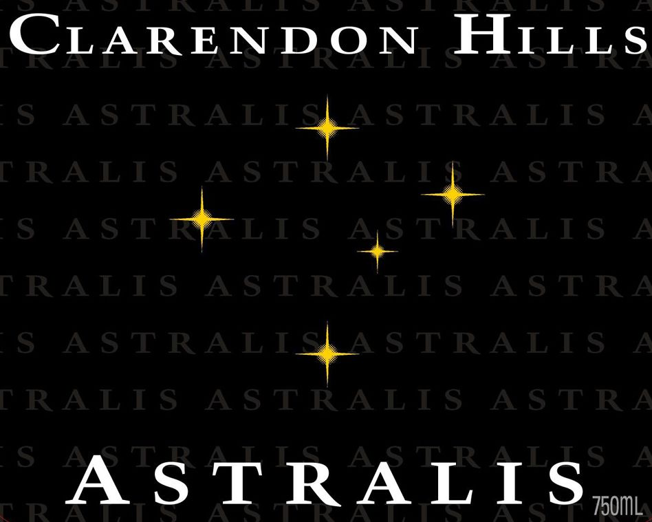 Clarendon Hills Astralis Syrah 1999  Front Label