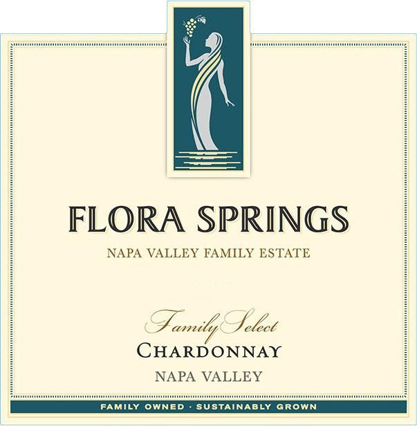Flora Springs Family Select Chardonnay 2017 Front Label