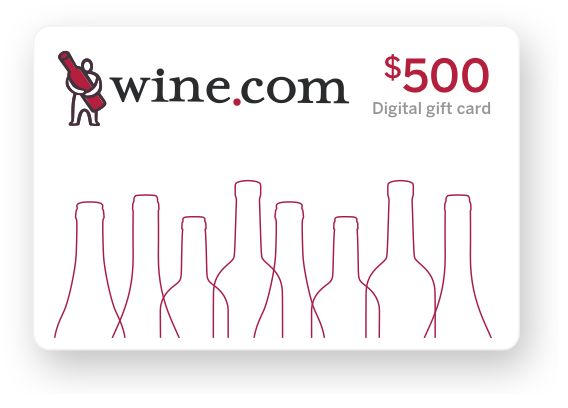 wine.com Gift Card - $500  Gift Product Image