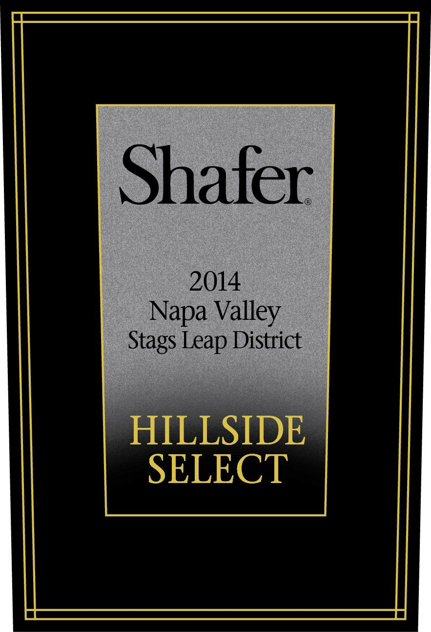 Shafer Hillside Select Cabernet Sauvignon (1.5 Liter Magnum) 2014  Front Label