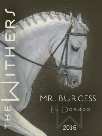 The Withers Mr. Burgess 2016  Front Label