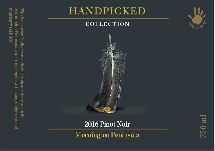 Handpicked Wines Collection Mornington Peninsula Pinot Noir 2016 Front Label