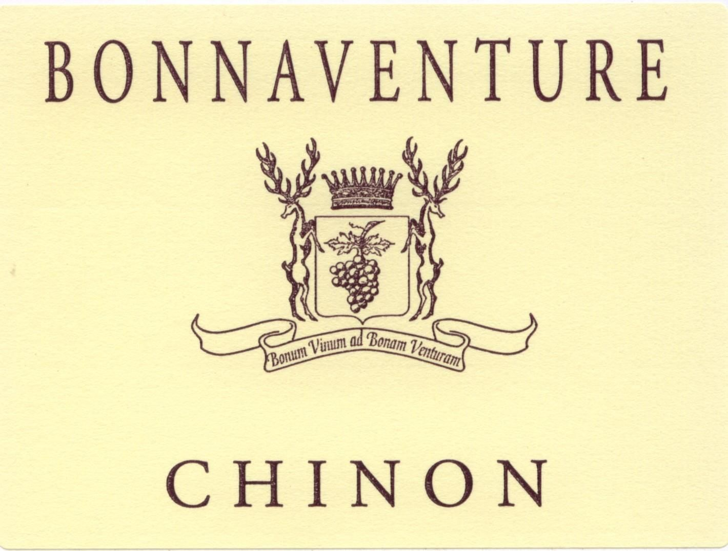 Chateau de Coulaine Chinon Bonnaventure 2016  Front Label