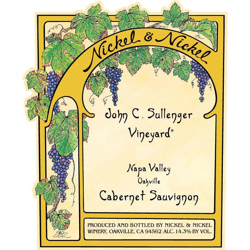 Nickel & Nickel Sullenger Vineyard Cabernet Sauvignon 2016 Front Label