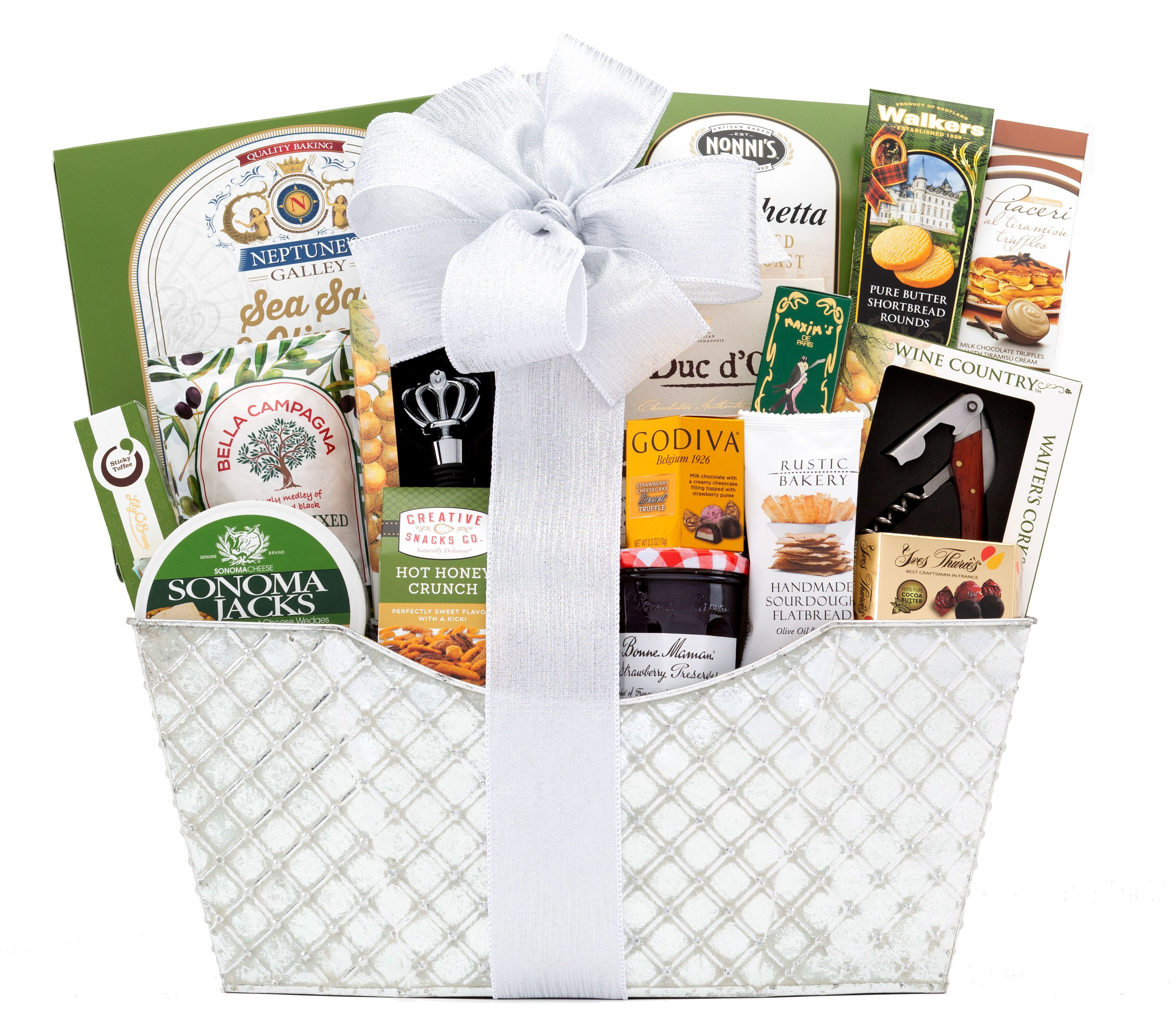 wine.com Bountiful Gourmet Gift Basket  Gift Product Image