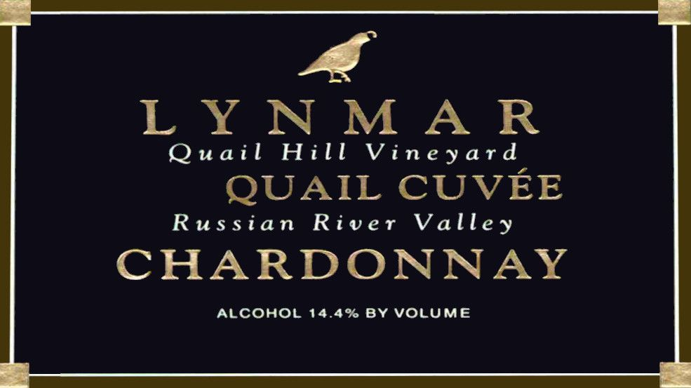 Lynmar Winery Quail Hill Cuvee Chardonnay 2013 Front Label