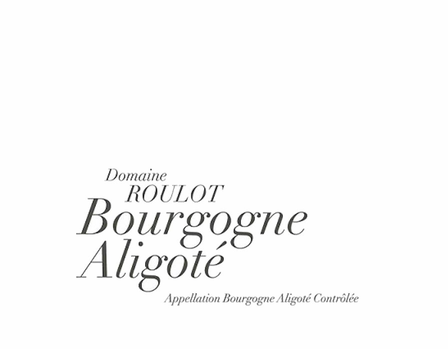 Domaine Roulot Bourgogne Aligote 2016  Front Label