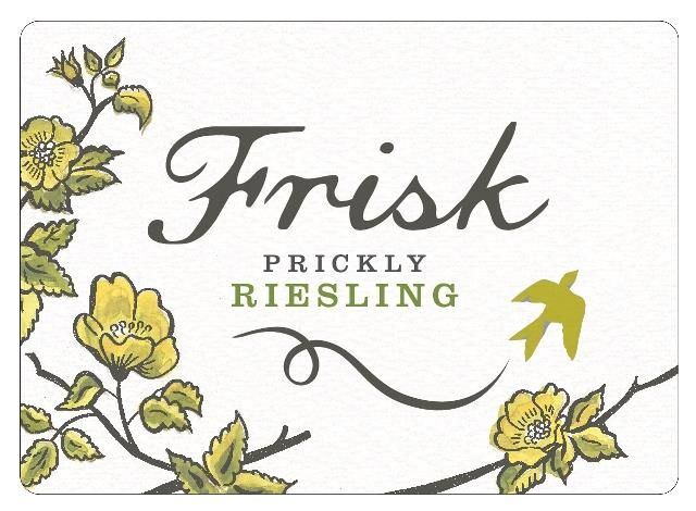 Frisk Prickly Riesling 2019  Front Label