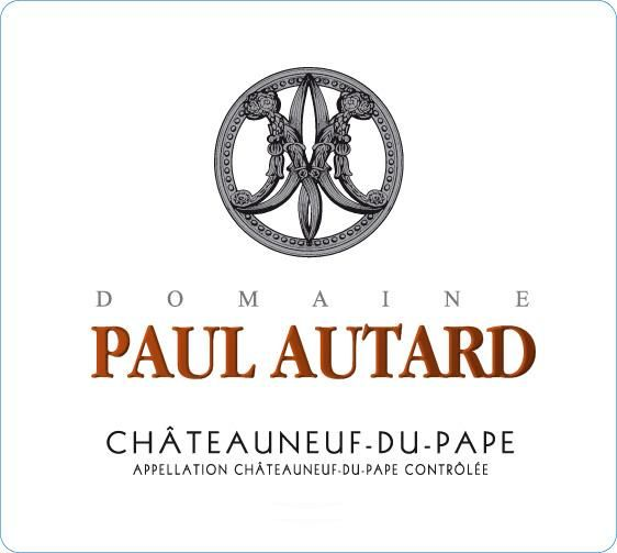 Paul Autard Chateauneuf-du-Pape 2017  Front Label