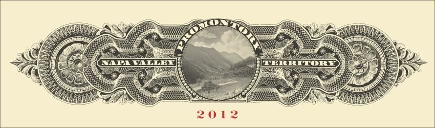 Promontory  2012 Front Label