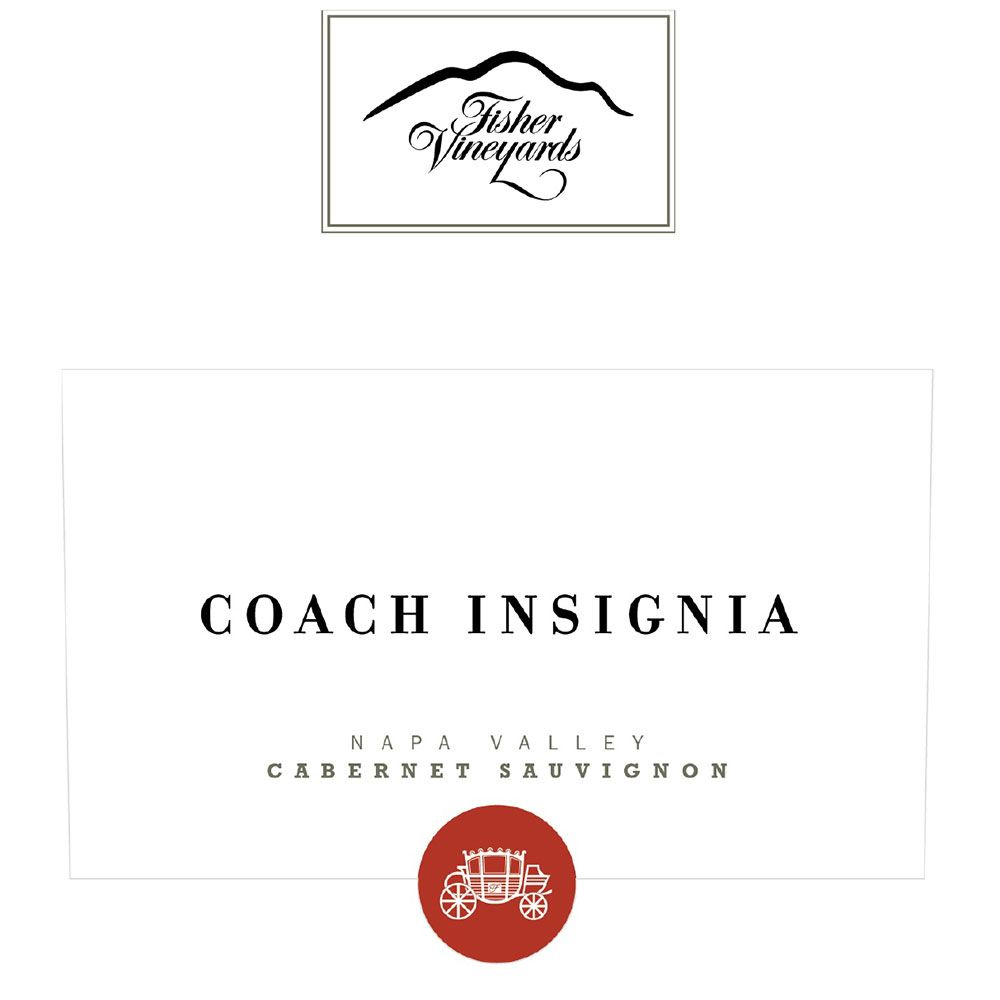 Fisher Vineyards Coach Insignia Cabernet Sauvignon 2015  Front Label