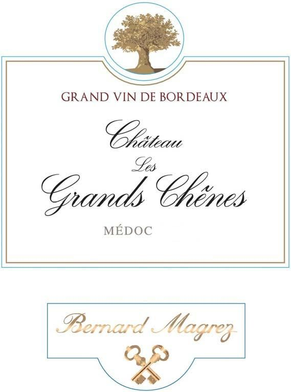Chateau Les Grands Chenes (Futures Pre-Sale) 2018  Front Label