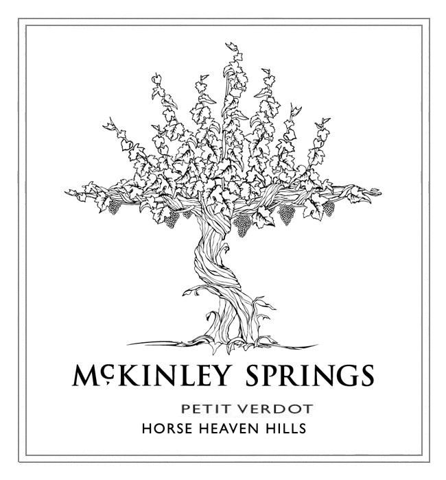McKinley Springs Winery Petit Verdot 2009  Front Label
