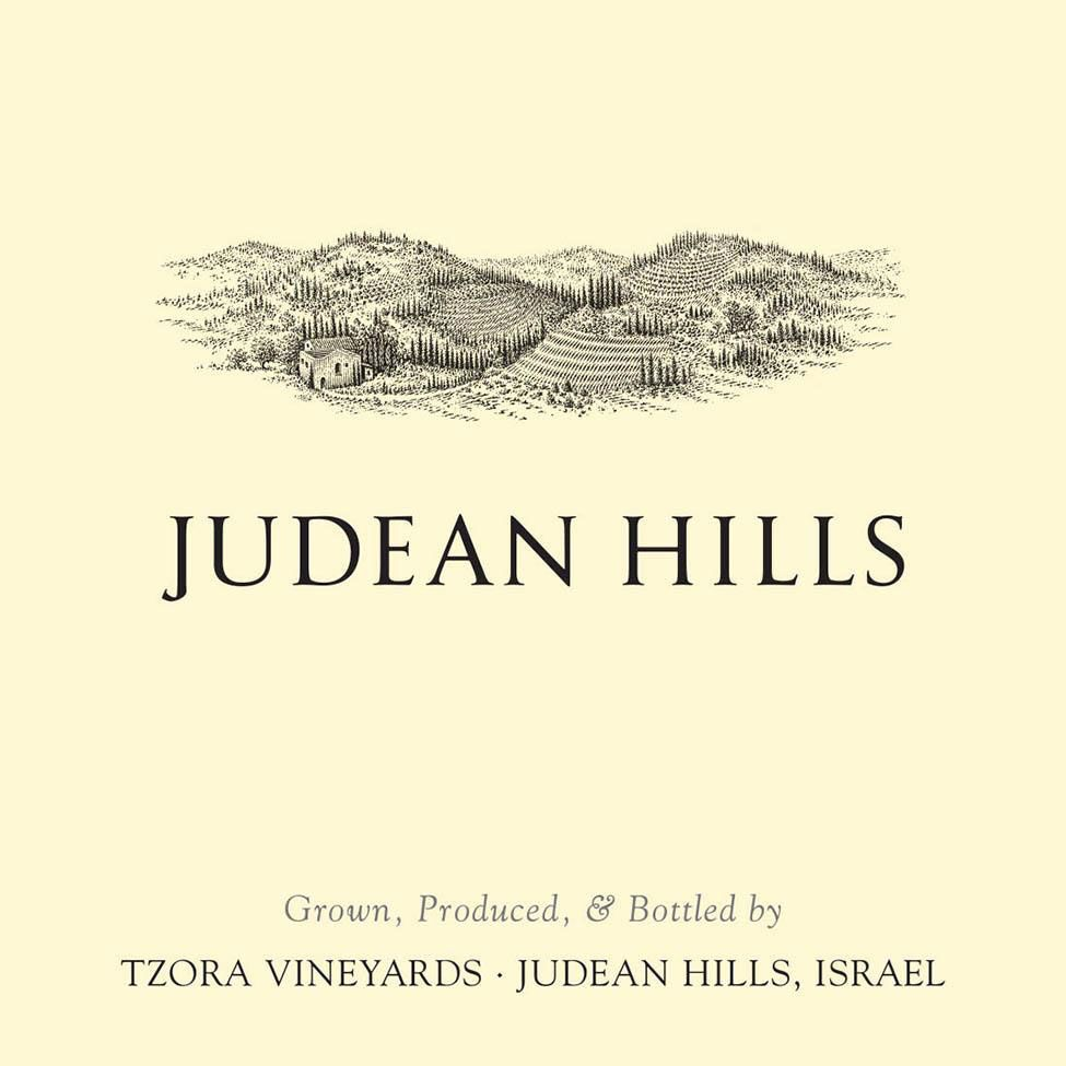Tzora Judean Hills Red (OK Kosher) 2019  Front Label