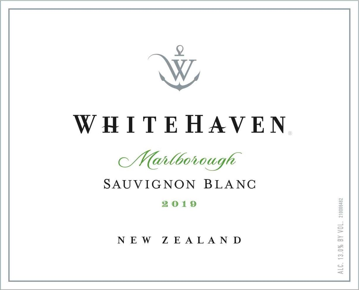 Whitehaven Sauvignon Blanc (375ML half-bottle) 2019  Front Label