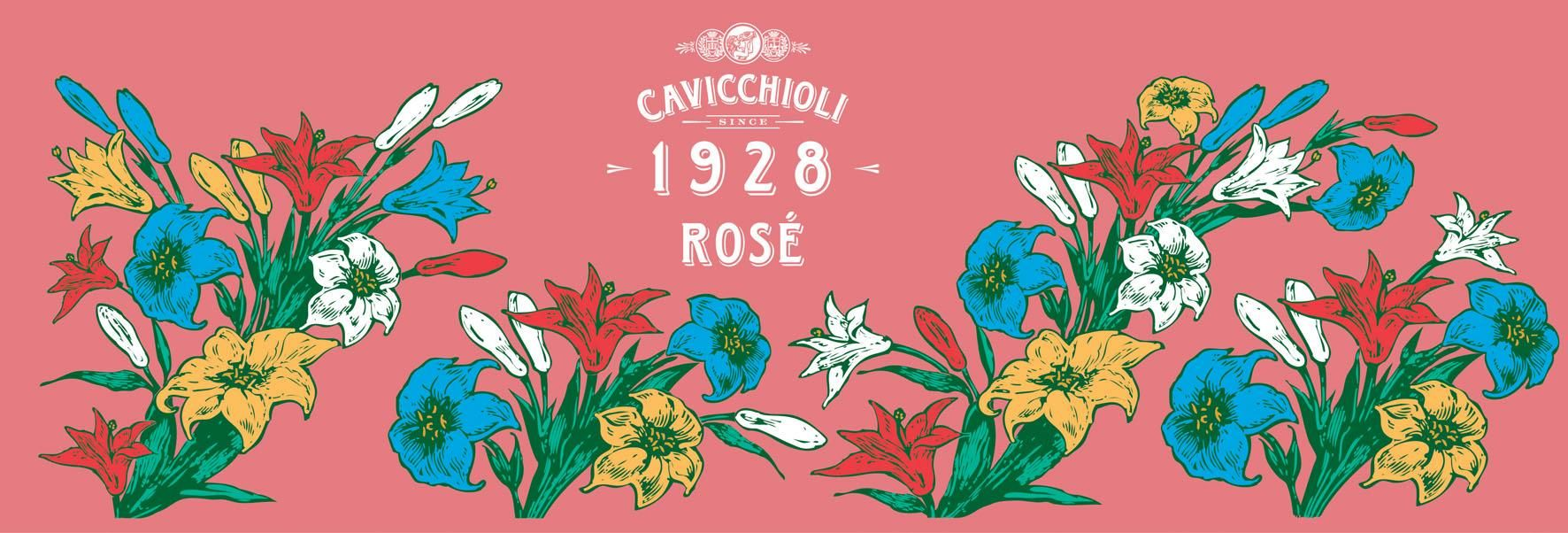 Cantine Cavicchioli Rose Spumante Dolce Front Label