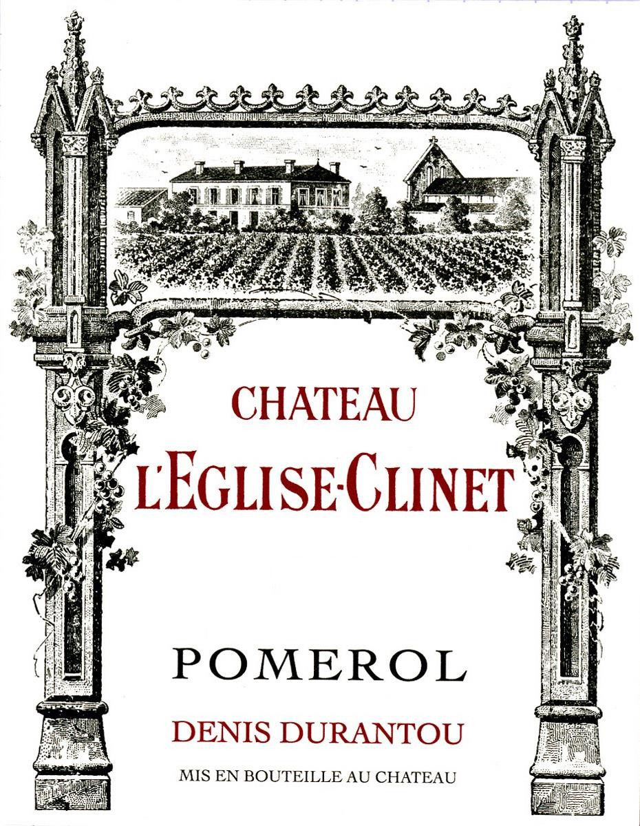 Chateau L'Eglise Clinet (Futures Pre-Sale) 2019  Front Label