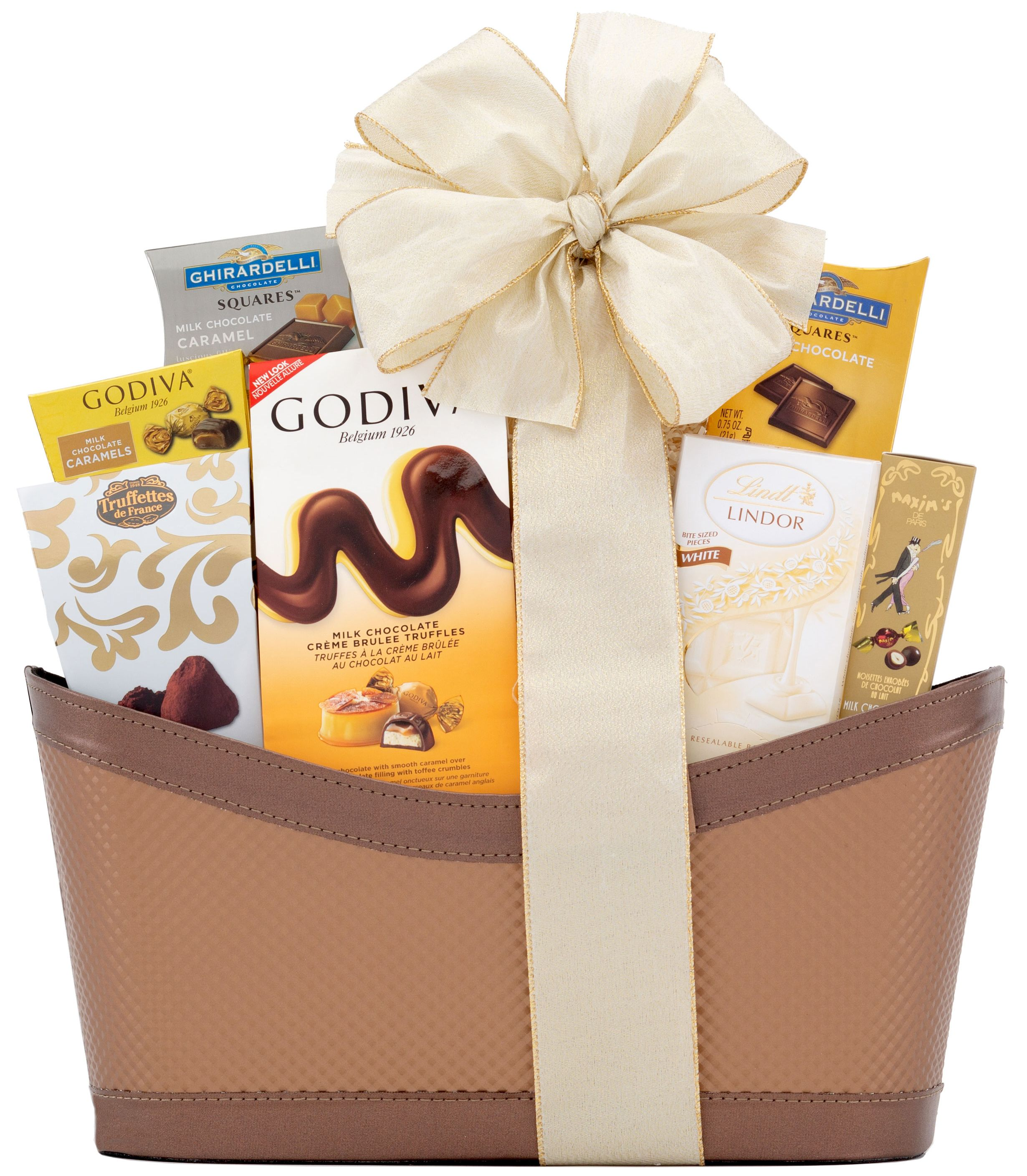 wine.com Premium Chocolate Gift Basket  Gift Product Image