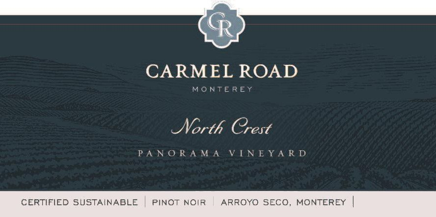 Carmel Road North Crest Pinot Noir 2014 Front Label