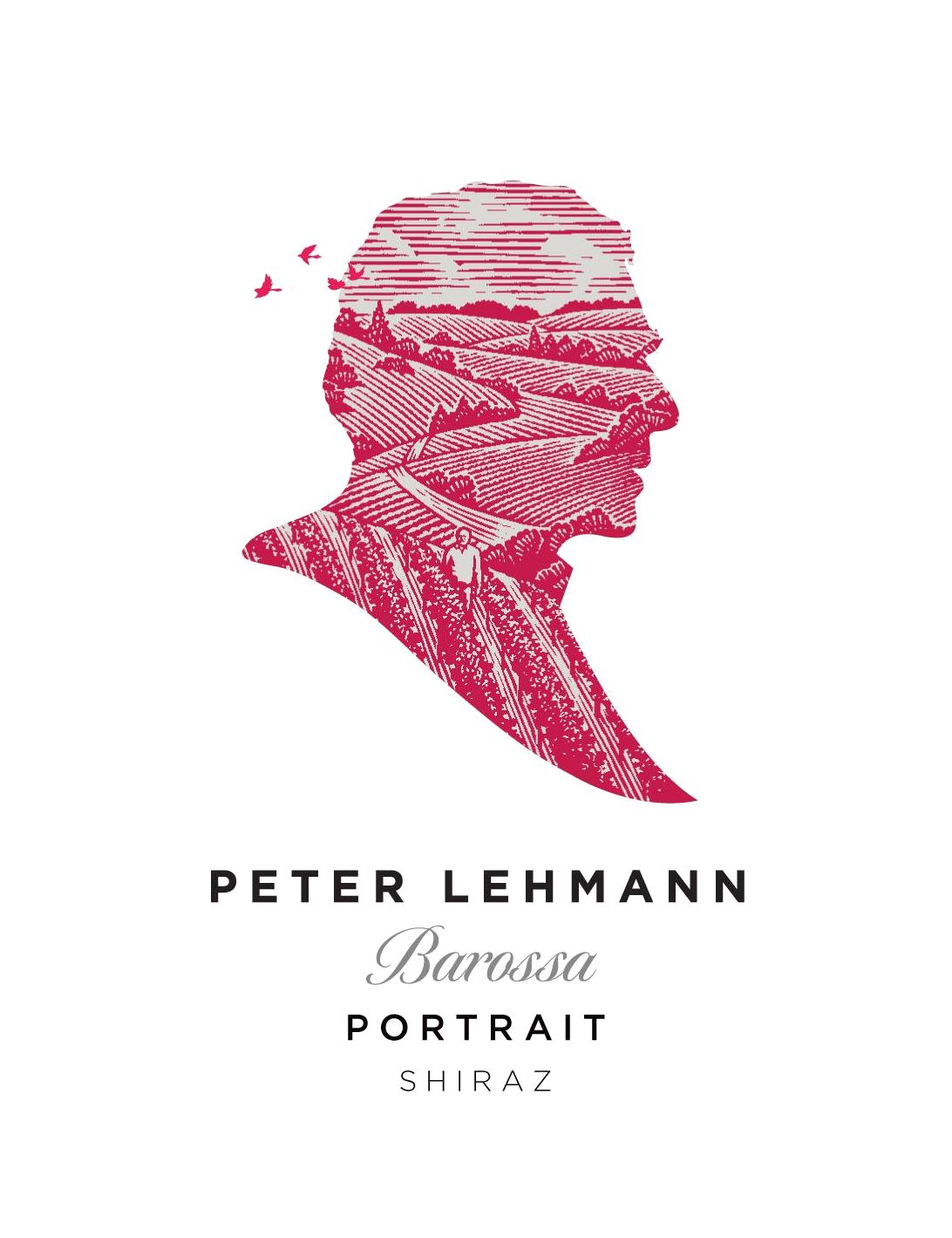 Peter Lehmann Portrait Shiraz 2015  Front Label