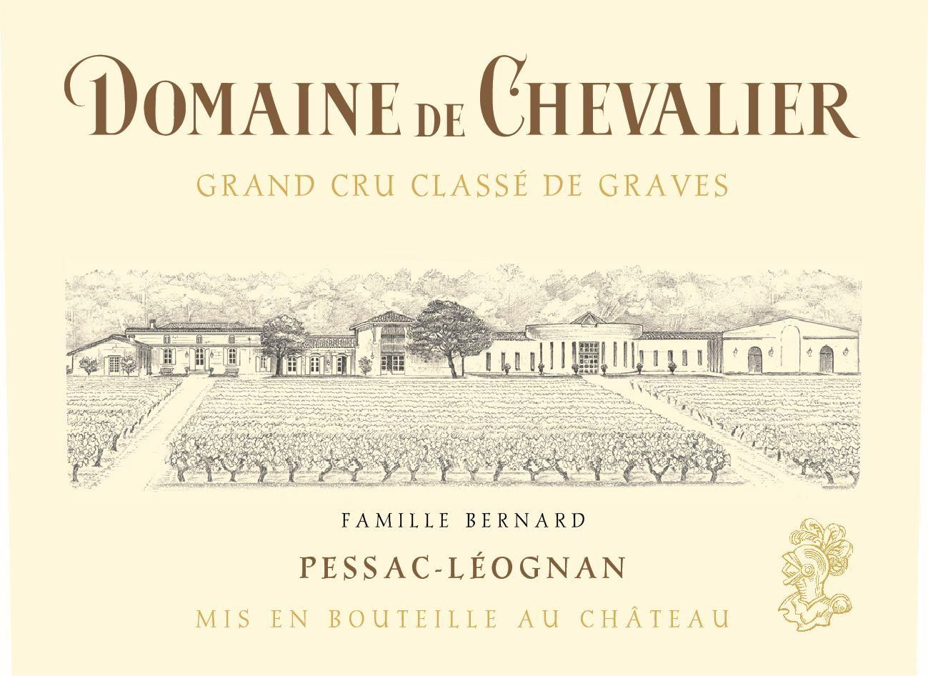 Domaine de Chevalier Blanc (Futures Pre-Sale) 2019  Front Label