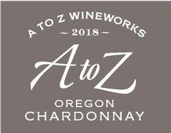 A to Z Chardonnay 2018 Front Label