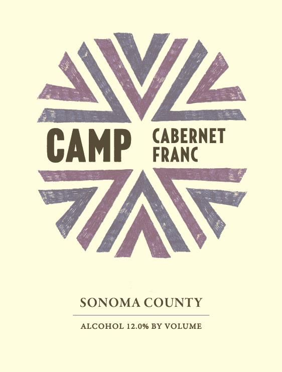 Camp Cabernet Franc 2018  Front Label