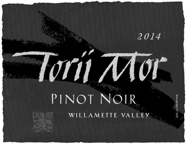 Torii Mor Willamette Valley Pinot Noir (375ML half-bottle) 2014  Front Label