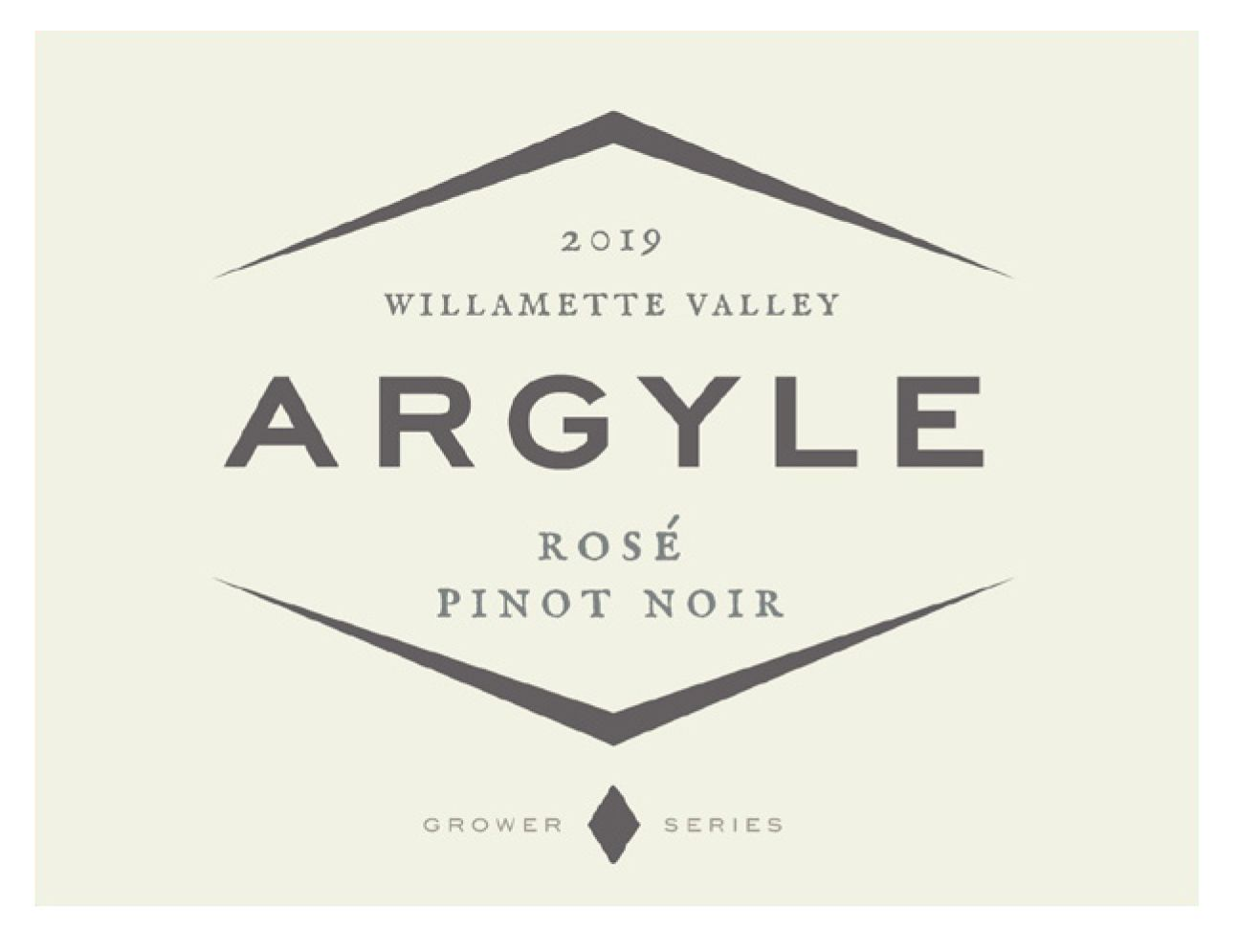 Argyle Pinot Noir Rose 2019  Front Label