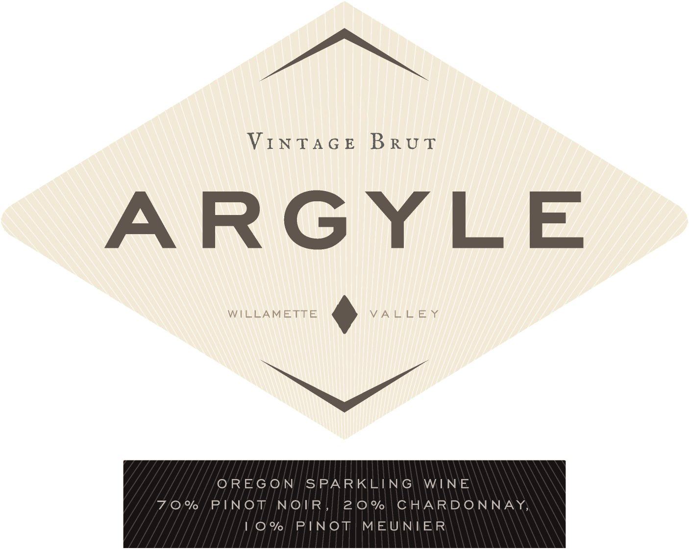 Argyle Brut 2016  Front Label