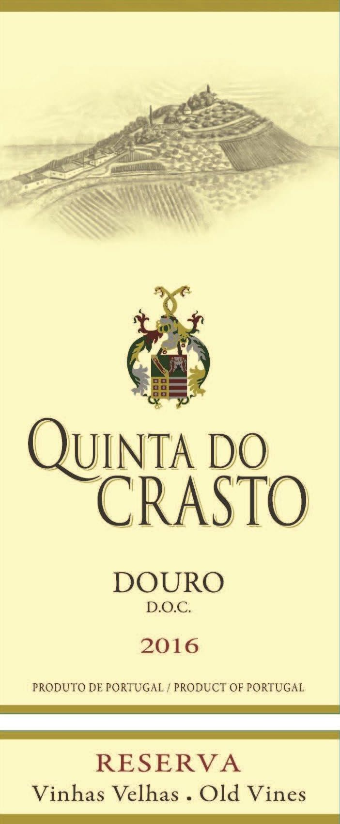 Quinta do Crasto Douro Red Reserva Old Vines 2016  Front Label