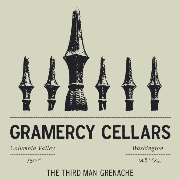 Gramercy Cellars The Third Man GSM 2016 Front Label