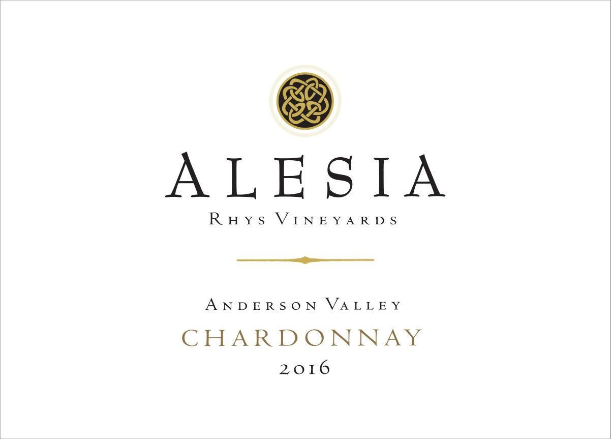 Rhys Vineyards Alesia Anderson Valley Chardonnay 2016 Front Label