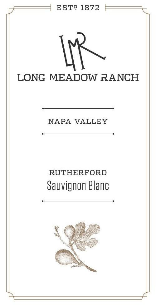 Long Meadow Ranch Sauvignon Blanc 2018  Front Label
