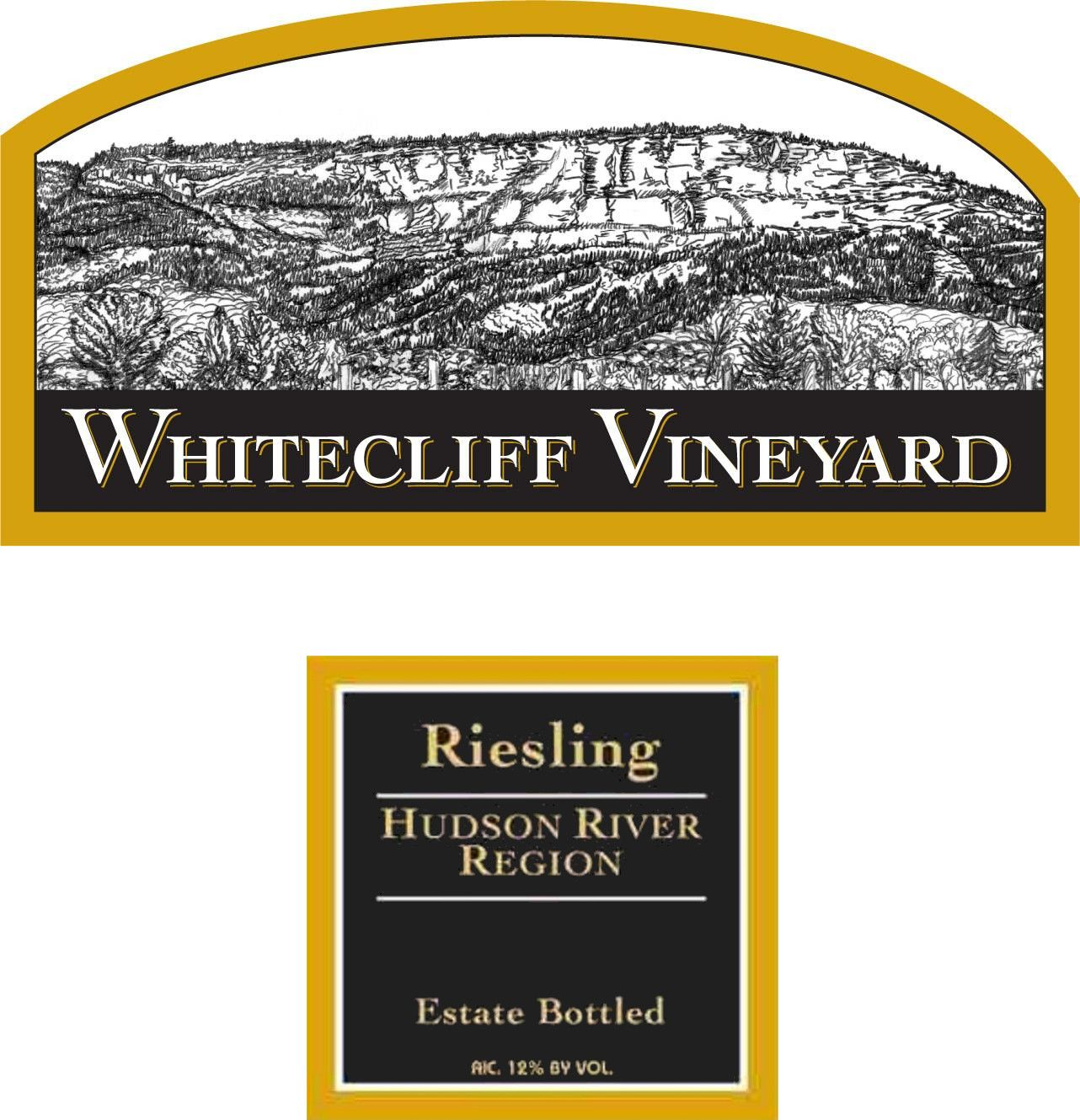 Whitecliff Vineyard & Winery Riesling 2012  Front Label