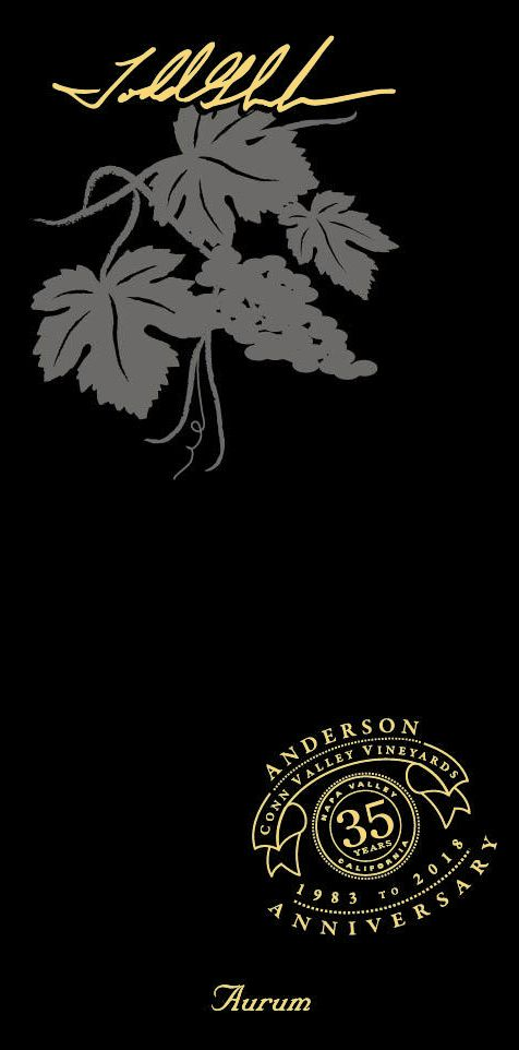 Anderson's Conn Valley Vineyards Aurum Cabernet Sauvignon 2016  Front Label