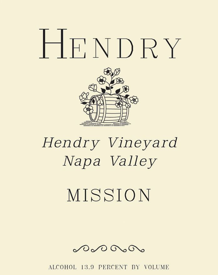 Hendry Mission 2018  Front Label