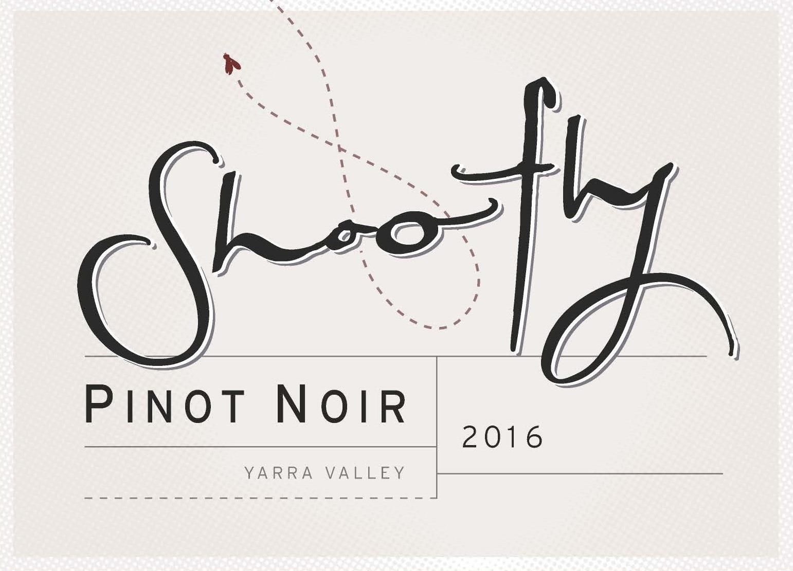 Shoofly Pinot Noir 2016 Front Label