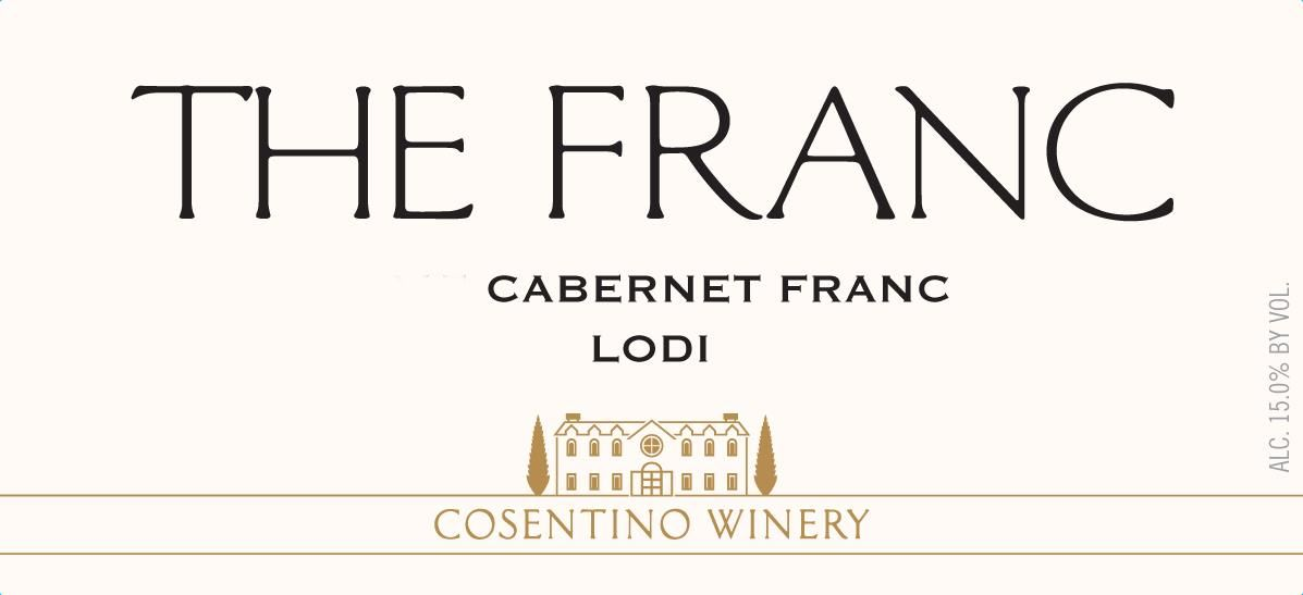 Cosentino The Franc 2018 Front Label