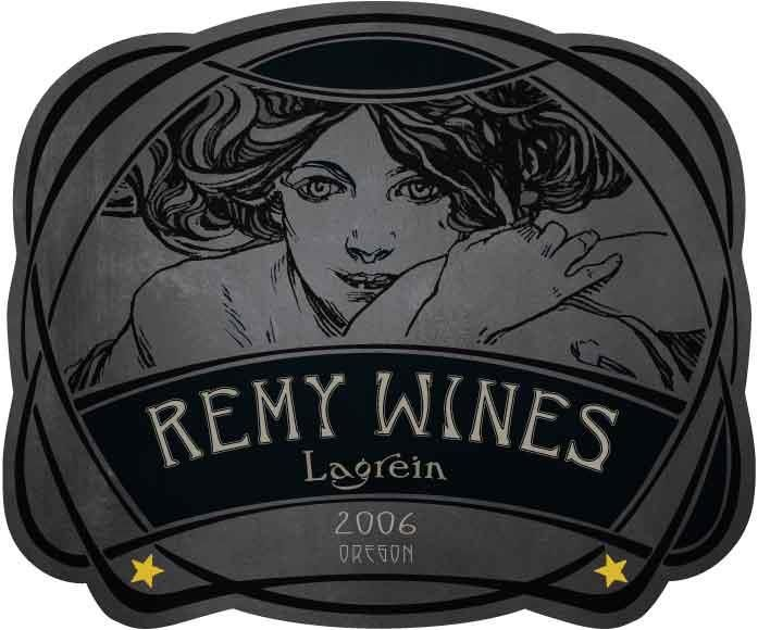 Remy Wines Lagrein 2006 Front Label