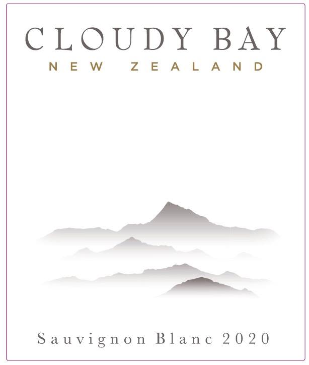 Cloudy Bay Sauvignon Blanc 2020  Front Label