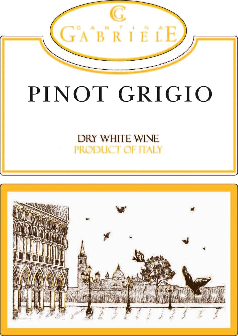 Cantina Gabriele Pinot Grigio (OU Kosher) 2019  Front Label