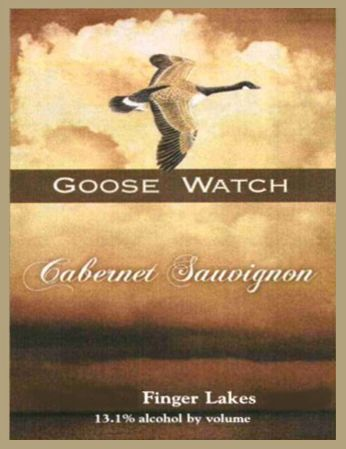 Goose Watch Winery Cabernet Sauvignon 2011 Front Label